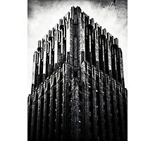 The Dark Tower - The Shell Building in San Francisco Photographic Print