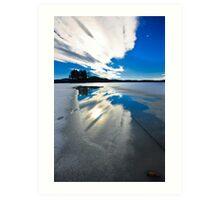 sky reflection Art Print