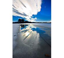 sky reflection Photographic Print