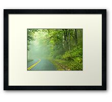 Foggy Travels Framed Print