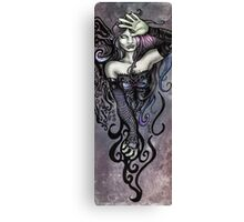 The Overseeing Dark Angel Canvas Print