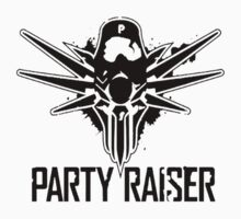 Party Raiser Logo  Kids Clothes
