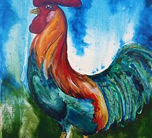 French Provincial Cockerel 2 by Picatso