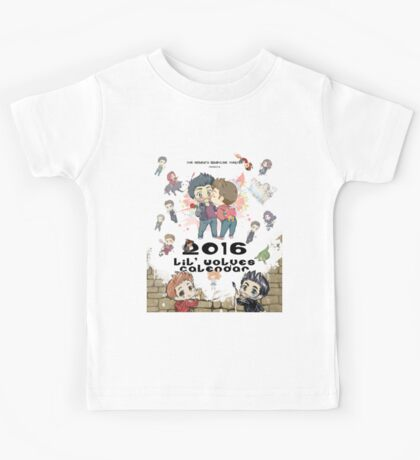 Calendar 2016 - Cover Kids Tee