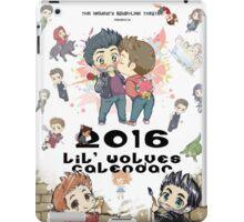 Calendar 2016 - Cover iPad Case/Skin