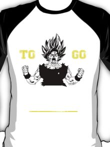 TRAINING TO GO SUPER SAIYAN WHITE T-Shirt