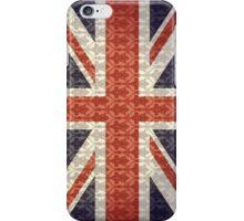 Union Flag/Sherlock wallpaper iPhone Case/Skin