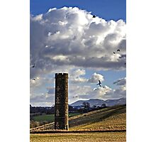 The Old Water Tower Photographic Print