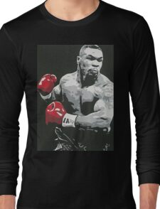 Mike Tyson Long Sleeve T-Shirt