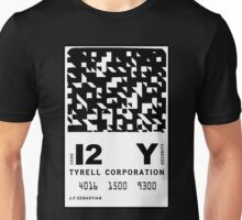 J.F.Sebastian Tyrell Corporation Entry Card Unisex T-Shirt