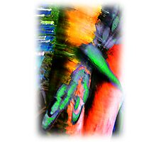 Psychedelic Dragonfly  Photographic Print