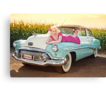 Back to the 50's Canvas Print