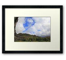 glenfinnan viaduct, western scotland Framed Print