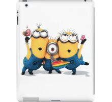 likeable and adorable minions iPad Case/Skin