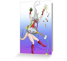 Haphazard! Greeting Card