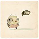 Hello by menulis