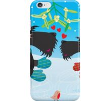 Ice Skating Scottie Dogs iPhone Case/Skin