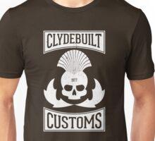 Clydebuilt Customs (white) Unisex T-Shirt