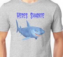 Heres Sharkie Unisex T-Shirt