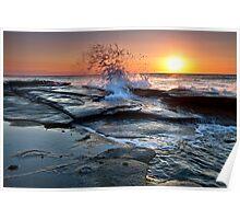 Shelly Beach QLD Sunrise 5 Poster