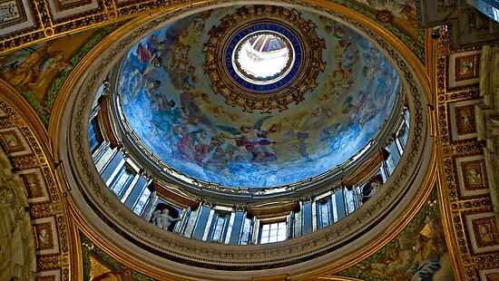 Vatican Dome by phil decocco