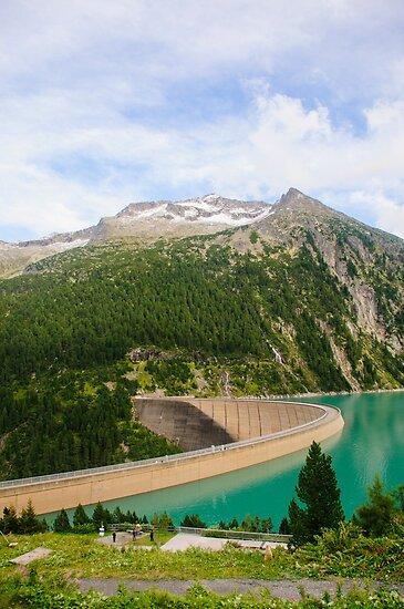 Austria, Zillertal High Alpine nature Park landscape by PhotoStock-Isra