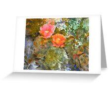Desert Floor - Spring Greeting Card
