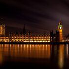 London Big Ben, Westminster, House of Parlament, Uk by Lee Rolfe