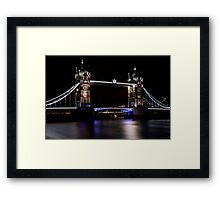 London, Tower Bridge over Thames Framed Print