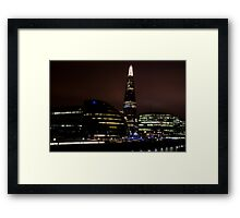 London, The Shard  Framed Print