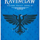 Ravenclaw House Poster by liquidsouldes