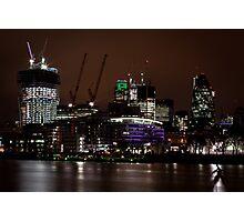 London gherkin (30 st mary axe) Photographic Print