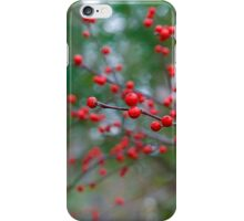 Red Spheres of Nature iPhone Case/Skin