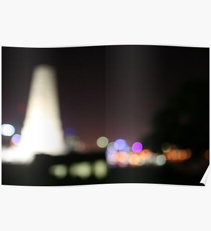 Memorial Lights Poster