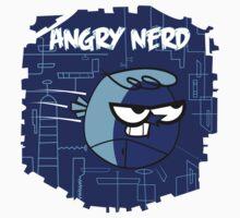 Angry Nerds Kids Tee