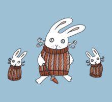 Cozy Bunnies Kids Tee