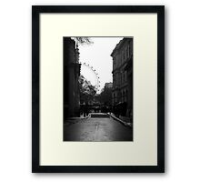 View of London Eye from Number 10 Downing street Framed Print
