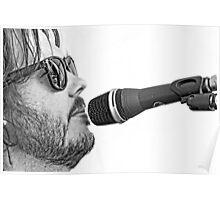 Chris Rockin' Poster