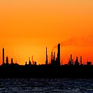 Fawley Oil Refinery by bubblebat