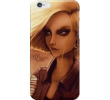 Fan-art: Android 18 iPhone Case/Skin
