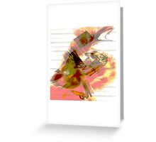 Mesmeric Greeting Card
