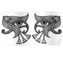 Eye of Horus - Dual / Mirrored Poster