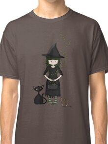 Whimsical Little Witch Classic T-Shirt