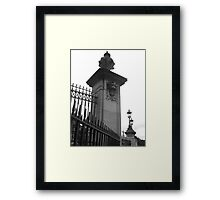 Buckhingham Palace and Victoria Monument Framed Print