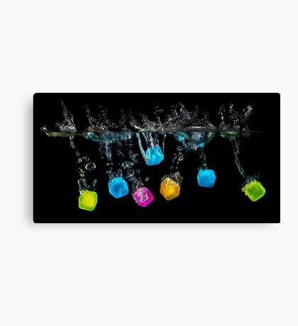 The Cubes Canvas Print