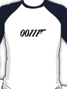007 Binary 00111  T-Shirt