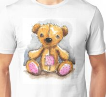 Teddy Bear with patch Unisex T-Shirt
