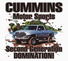 Cummins Motor Sports by Truck Tee's