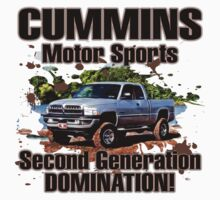 Cummins Motor Sports Kids Tee