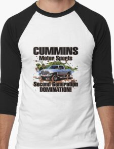 Cummins Motor Sports Men's Baseball ¾ T-Shirt